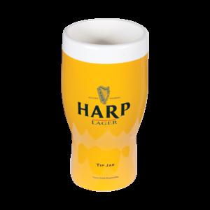 Harp_Molded Tip Jar