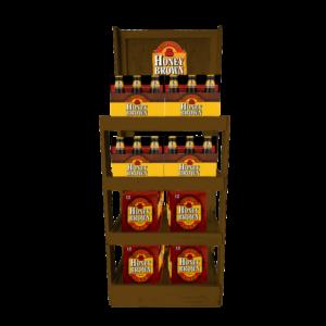 Honey Brown Wooden Rack