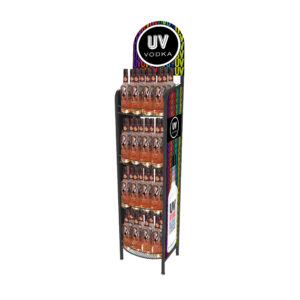 UV Vodka_Metal Rack
