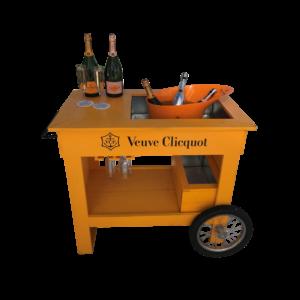 Veuve Cliquot_Bar Cart