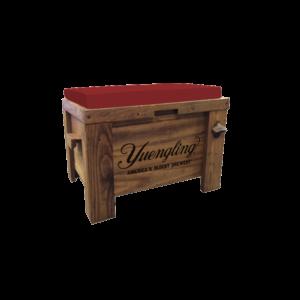 Yuengling_Wooden Cooler Bench